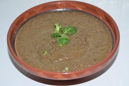 soupe lentilles vertes du Berry