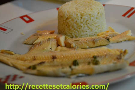 recettes de papillotes : filets de truites