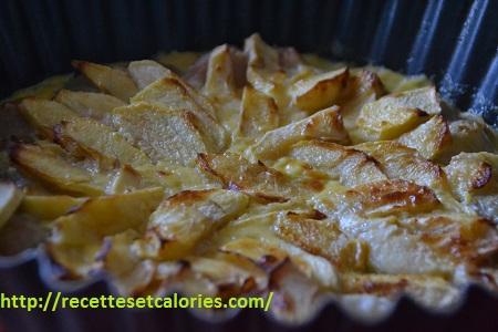 recettes de pommes et poires : le gratin d'hiver