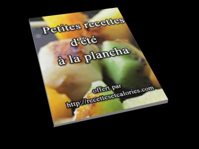 Guide de recettes offert par le blog Recettes et Calories